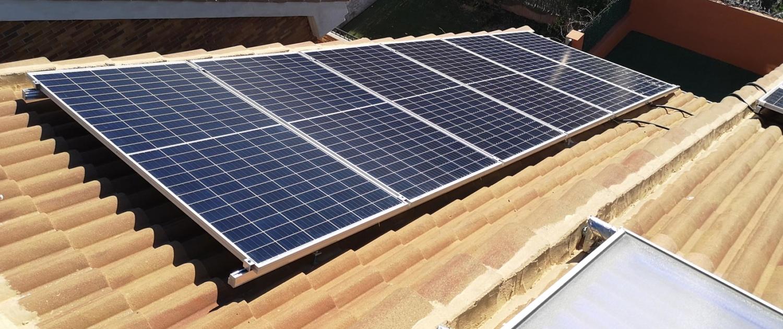 proyecto 4 Instalación de 2,7Kw en Arroyomolinos Yance Renovables