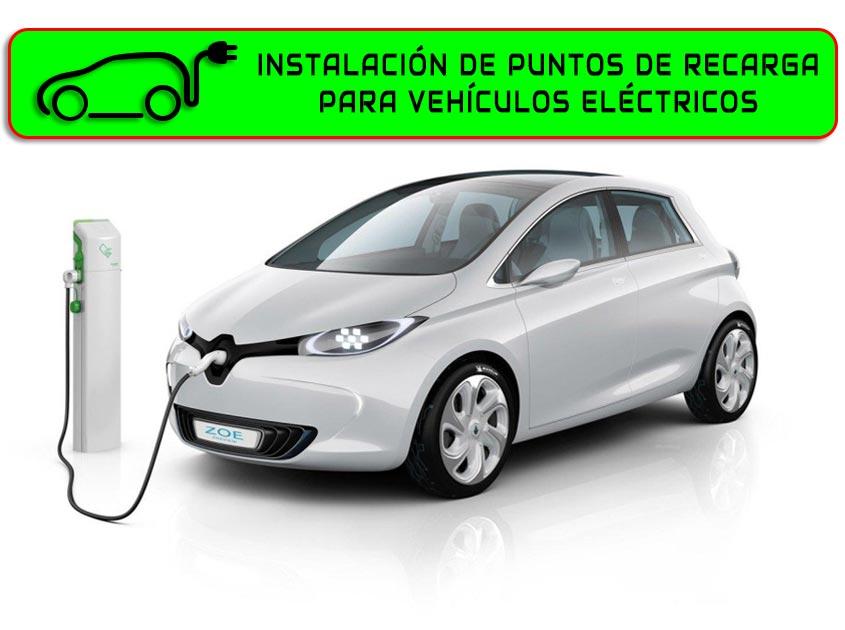 instalacion de punto de recarga para vehiculos electricos yance renovables