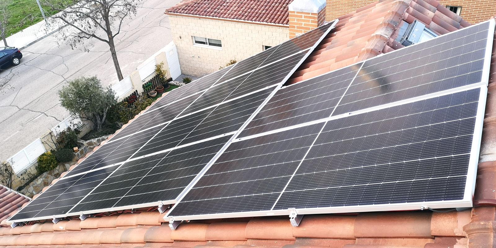 Proyecto 19. Instalación de 7.36Kw en Rivas Vaciamadrid